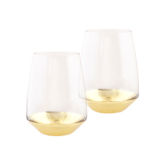 Cristina Re Tumbler Estelle Gold Set of 2