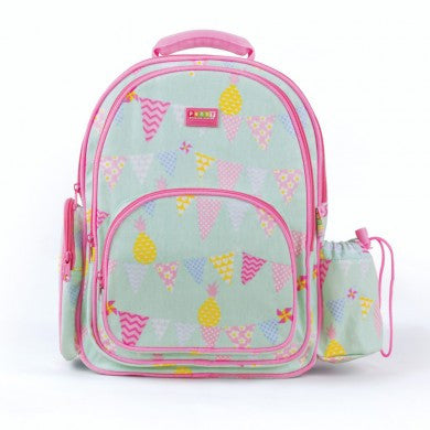 Penny Scallan Large Backpack Pineapple Bunting, , Backpack, Penny Scallan, Party Twinkle | PO BOX 3145 BRIGHTON VIC 3186 AUSTRALIA | www.partytwinkle.com.au