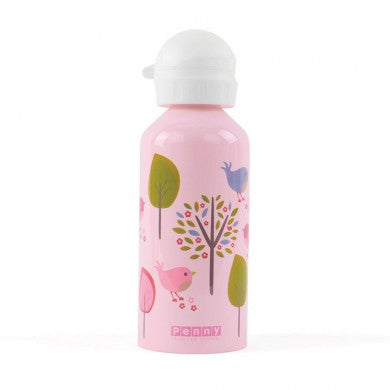 Penny Scallan Drink Bottle 500ml - Chirpy Bird, , Drinking Bottle, Penny Scallan, Party Twinkle | PO BOX 3145 BRIGHTON VIC 3186 AUSTRALIA | www.partytwinkle.com.au
