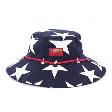 Penny Scallan Navy Star Hat, , Hats, Penny Scallan, Party Twinkle | PO BOX 3145 BRIGHTON VIC 3186 AUSTRALIA | www.partytwinkle.com.au