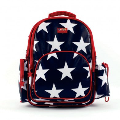 Penny Scallan Large Backpack Navy Star, , Backpack, Penny Scallan, Party Twinkle | PO BOX 3145 BRIGHTON VIC 3186 AUSTRALIA | www.partytwinkle.com.au