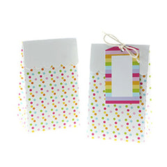 Sambellina Multicolor/Confetti Treat Boxes (12), , Treat Box, Sambellina, Party Twinkle | PO BOX 3145 BRIGHTON VIC 3186 AUSTRALIA | www.partytwinkle.com.au  - 1