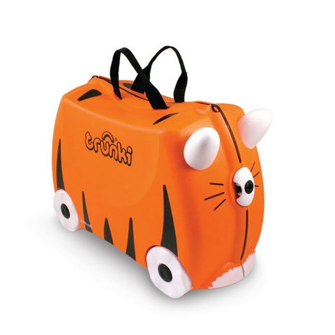 Trunki Ride-on Suitcase / Hand Luggage Tipu (Tiger)