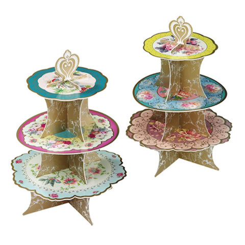 Truly Scrumptious Cake Stand, , Cake Stand, Talking Tables, Party Twinkle | PO BOX 3145 BRIGHTON VIC 3186 AUSTRALIA | www.partytwinkle.com.au  - 1