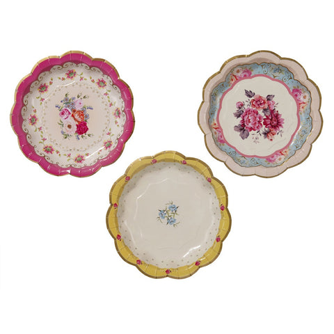 Truly Scrumptious Plates - Pack of 12, , Cake Plates, Talking Tables, Party Twinkle | PO BOX 3145 BRIGHTON VIC 3186 AUSTRALIA | www.partytwinkle.com.au  - 1