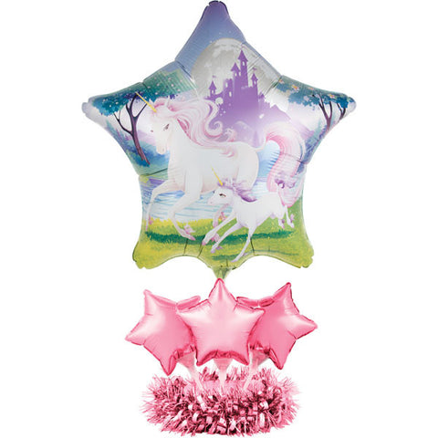 Unicorn Fantasy Balloon Party Centerpiece Kit - 46cm