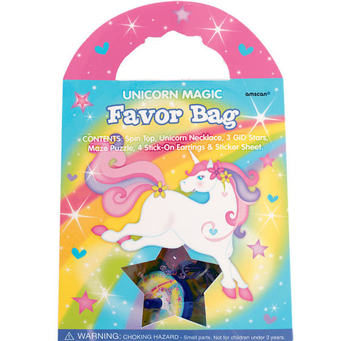 Unicorn Magic Favour Bag (each)