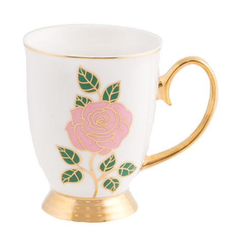 Cristina Re Mug Dolce Rosa Ivory - New Bone China