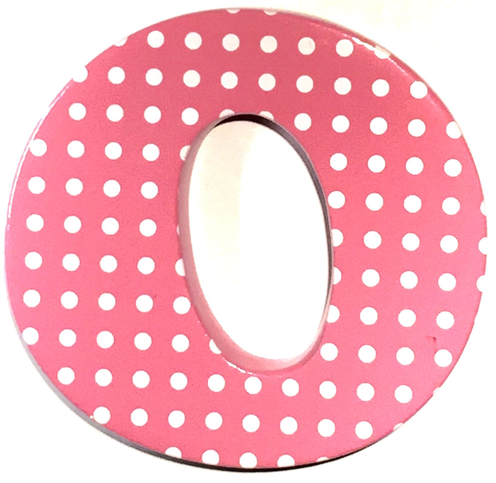 Bobble Art Door Letter O Small Dots Pink on Sesame Street Letter B