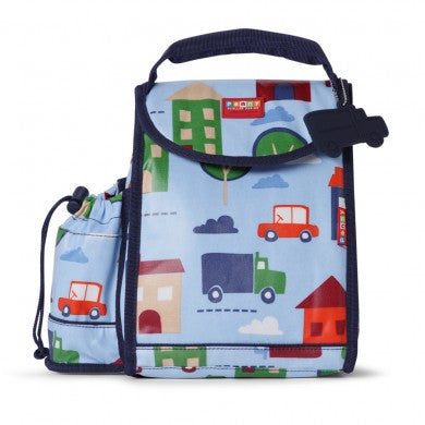 Penny Scallan Kids Insulated Backpack Lunch Box - Big City ~