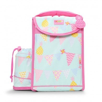 Penny Scallan Kids Insulated Backpack Lunch Box - Pineapple Bunting