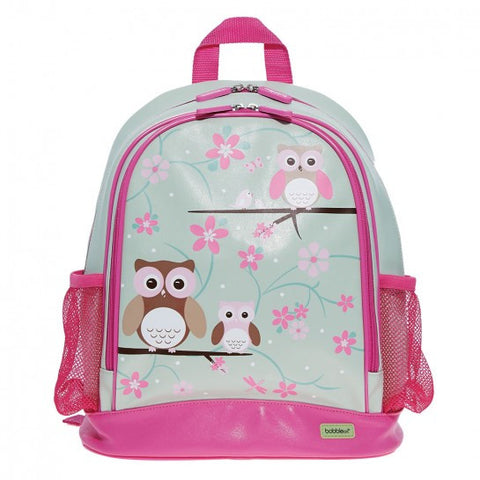 Bobble Art Owl Large PVC Backpack, , Backpack, Bobble Art, Party Twinkle | PO BOX 3145 BRIGHTON VIC 3186 AUSTRALIA | www.partytwinkle.com.au
