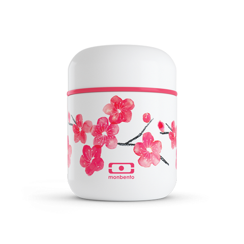 Monbento MB Capsule graphic Blossom - The small insulated lunch box