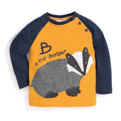 Jojo Maman Bebe B is for Badger Mustard (4-5 years)