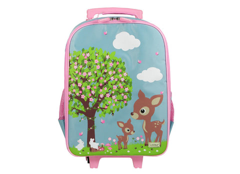 Bobble Art Wheely Bag - Woodland