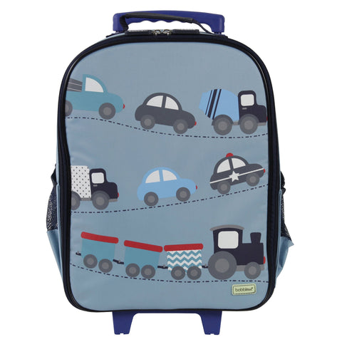 Bobble Art Wheely / Wheelie Bag - Cars