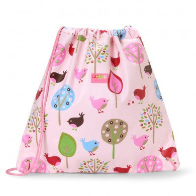 Penny Scallan Drawstring / Swimming Bag Chirpy Bird, , Swimming Bag, Penny Scallan, Party Twinkle | PO BOX 3145 BRIGHTON VIC 3186 AUSTRALIA | www.partytwinkle.com.au