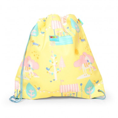Penny Scallan Drawstring / Swimming Bag - Park Life