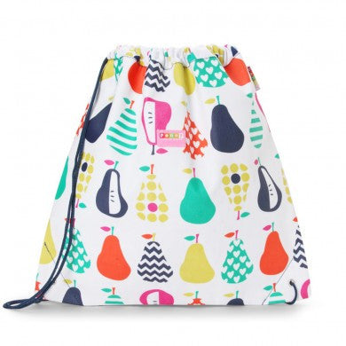 Penny Scallan Drawstring / Swimming Bag Pear Salad, , Backpack, Penny Scallan, Party Twinkle | PO BOX 3145 BRIGHTON VIC 3186 AUSTRALIA | www.partytwinkle.com.au
