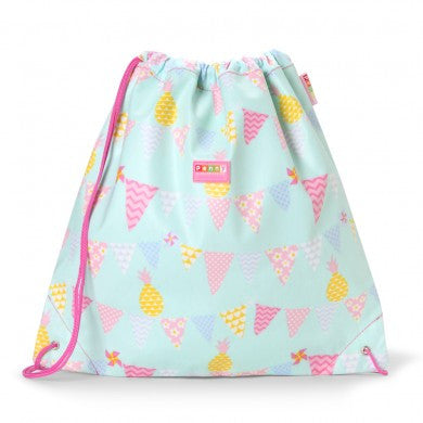Penny Scallan Drawstring / Swimming Bag Pineapple Bunting, , Swimming Bag, Penny Scallan, Party Twinkle | PO BOX 3145 BRIGHTON VIC 3186 AUSTRALIA | www.partytwinkle.com.au