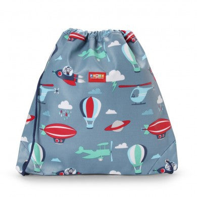 Penny Scallan Drawstring / Swimming Bag Space Monkey, , Swimming Bag, Penny Scallan, Party Twinkle | PO BOX 3145 BRIGHTON VIC 3186 AUSTRALIA | www.partytwinkle.com.au
