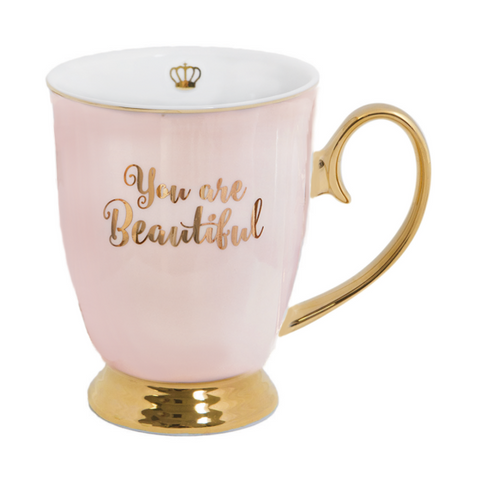 Cristina Re Mug Beautiful Blush, , High Tea, Cristina Re, Party Twinkle | PO BOX 3145 BRIGHTON VIC 3186 AUSTRALIA | www.partytwinkle.com.au