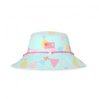 Penny Scallan Hat (Broad-Brimmed) - Pineapple Bunting