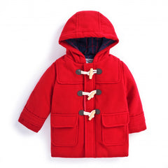 Jojo Maman Bebe Duffle Coat Red (3-4 years)