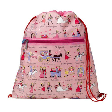 Tyrrell Katz Princess Swimming / Drawstring / Kit Bag, , Swimming Bag, LK Gifts, Party Twinkle | PO BOX 3145 BRIGHTON VIC 3186 AUSTRALIA | www.partytwinkle.com.au