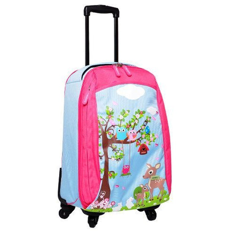 Bobble Art Luggage Bag - Woodland
