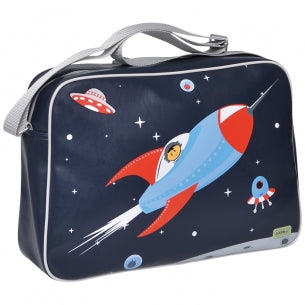 Bobble Art Overnighter Bag Rocket