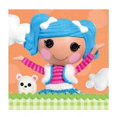 Lalaloopsy Party Beverage Napkins 16pk