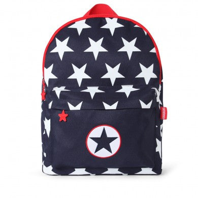 Penny Scallan Large Backpack Navy Star (Bare Collection), , Backpack, Penny Scallan, Party Twinkle | PO BOX 3145 BRIGHTON VIC 3186 AUSTRALIA | www.partytwinkle.com.au  - 1