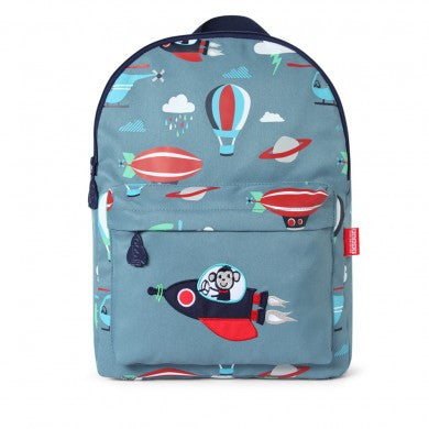 Penny Scallan Large Canvas Backpack / Rucksack Space Monkey ~