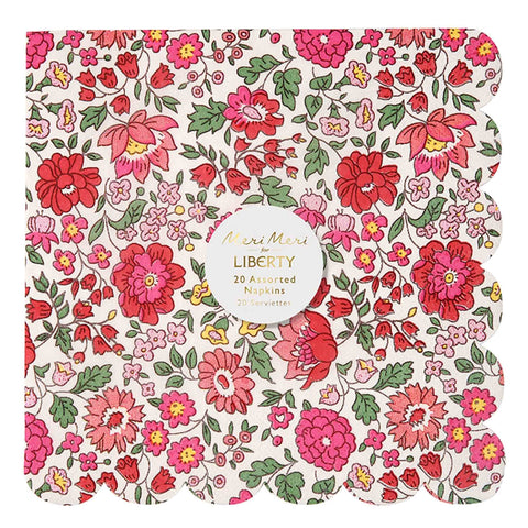 Meri Meri Assorted Liberty Large Napkins - Pack of 20