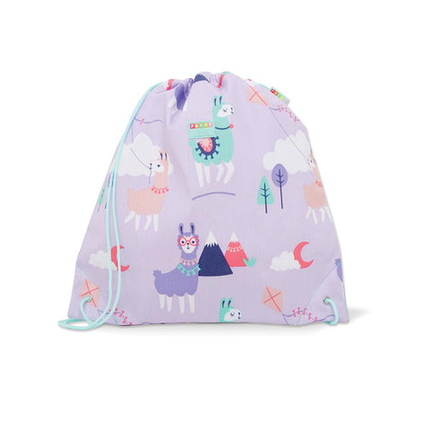 Penny Scallan Drawstring / Swimming Bag - Loopy Llama