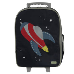 Bobble Art Wheely / Wheelie Bag - Rocket