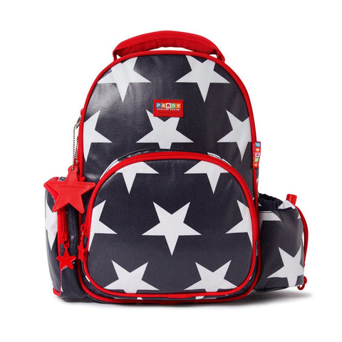Penny Scallan Medium Backpack - Navy Star, , Backpack, Penny Scallan, Party Twinkle | PO BOX 3145 BRIGHTON VIC 3186 AUSTRALIA | www.partytwinkle.com.au