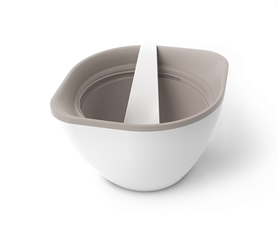 Monbento MB Lib Grey The to-go Bowl (The French Design Double Wall Bowl)