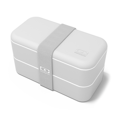 Monbento Bento Box MB Original Coton (light grey)  - The Bento Box Made in France.