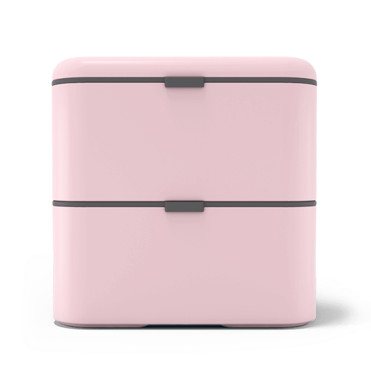 Light Pink - French Design Monbento MB Positive M Litchi The 500ml Drink B...