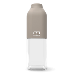 Monbento MB Positive M Grey - French Design. The 500ml Drink Bottle.