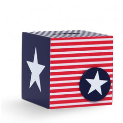 Penny Scallan Money Box - Navy Star @