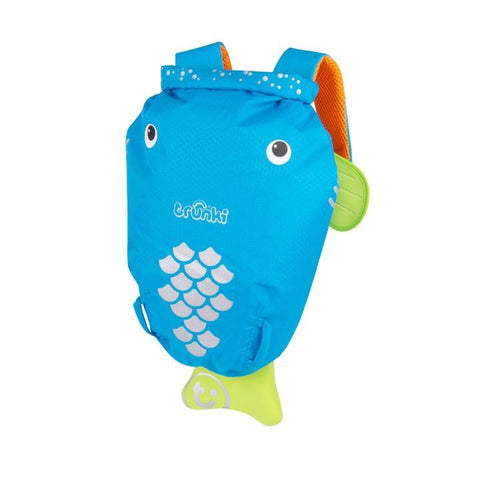 Trunki Medium PaddlePak - Bob the Blue Fish (2-6yrs)