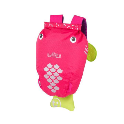 Trunki Flo the Pink Fish Medium Paddlepak (2 - 6 yrs)