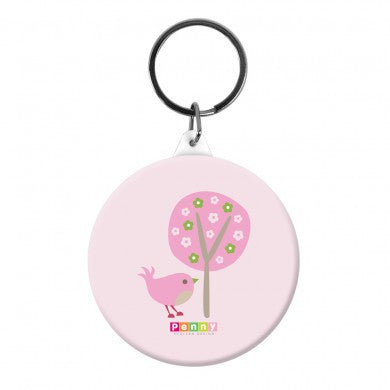 Penny Scallan Bag Tag - Chirpy Bird, Penny Scallan Chirpy Bird Bag Tag, Drinking Bottle, Penny Scallan, Party Twinkle | PO BOX 3145 BRIGHTON VIC 3186 AUSTRALIA | www.partytwinkle.com.au