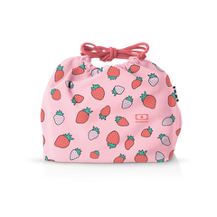 Monbento MB Pochette graphic Strawberry - French Design. The transport bag.