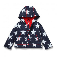 Penny Scallan Raincoat - Navy Star (Size 4) ~