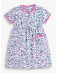Jojo's Girl's Ditsy Floral Summer Dress Size 4-5 yrs
