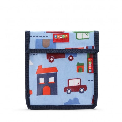 Penny Scallan Snack Bag - Big City, , Lunch Bag, Penny Scallan, Party Twinkle | PO BOX 3145 BRIGHTON VIC 3186 AUSTRALIA | www.partytwinkle.com.au  - 1